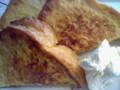 ジンジャーフレンチトースト。