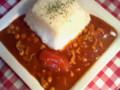 トマトとひよこ豆のハヤシライス。