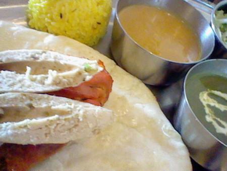 インド料理なうなう。