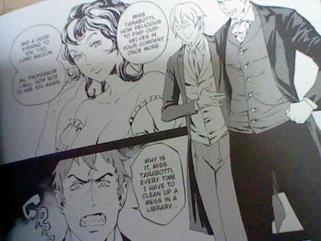 Manga版アレクシア女史