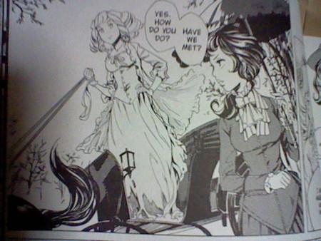 Manga版アレクシア女史。