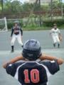 一塁コーチャー