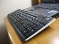 Wirless Keyboard K270を傾けた状態