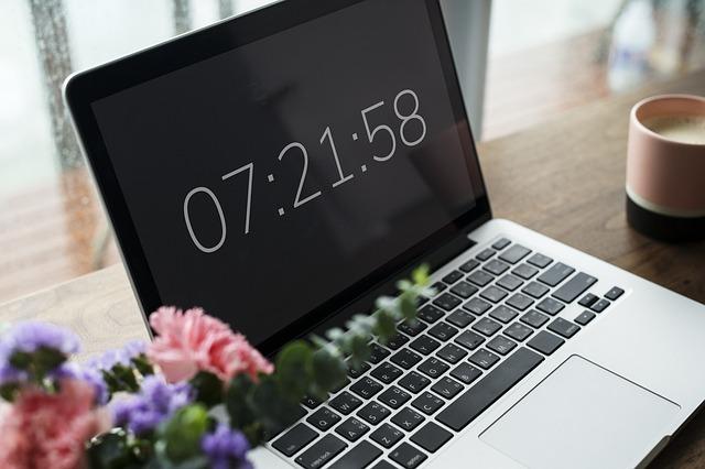 パソコン 時刻