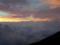 朝焼け 富士山8合目付近から