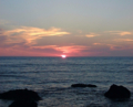日の出 襟裳岬