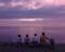 '00 野寒布岬の日没