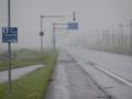 '01 雨の中,網走へ