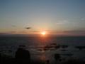 '08 襟裳岬の日の出