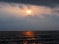 '13 留萌北方で日没