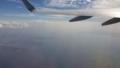 富津岬と三浦半島 150921JL羽田→岡山