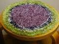 2009.3 裂き編みクッション