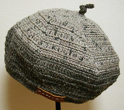 2009.6 麻のベレー帽