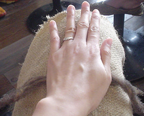 2009.6 kiwi craft ワークショップ1