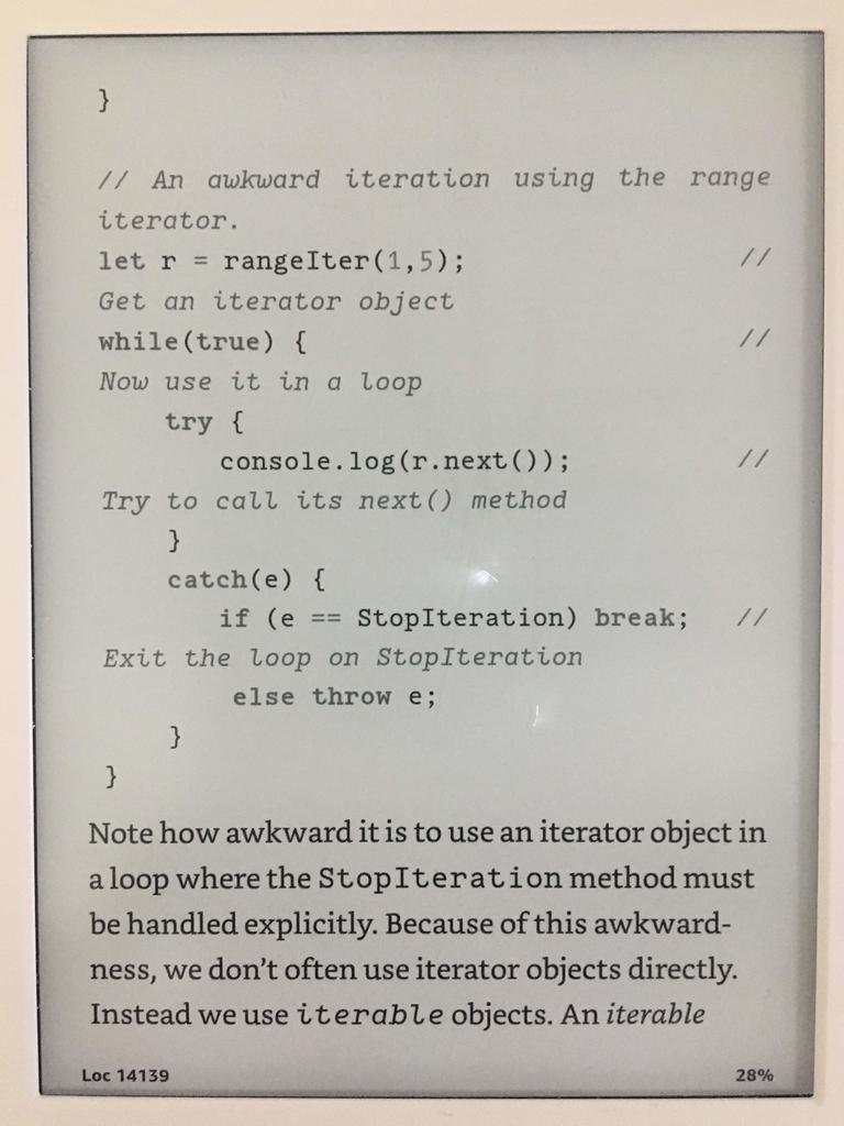 Kindle上のソースコードの表示方法