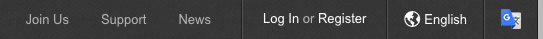 Binance Registerボタン