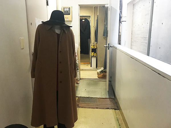 渋谷の古着屋「アンドコー」の外観