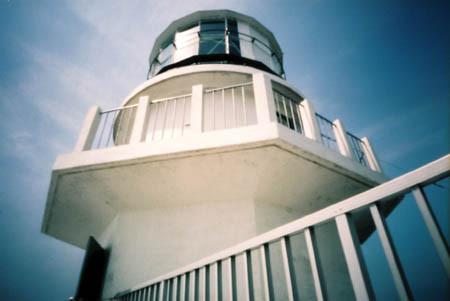 都井岬の白い灯台