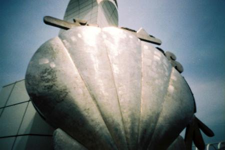 本牧埠頭D突堤の貝