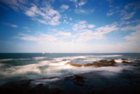 波洗う岩畳