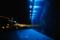 夜海の橙光