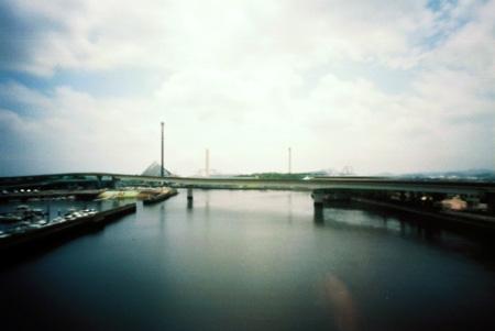 八景島駅歩道橋