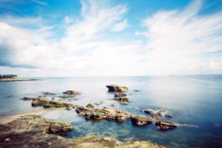 夏空と青海原
