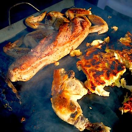 キャンプ 肉祭り