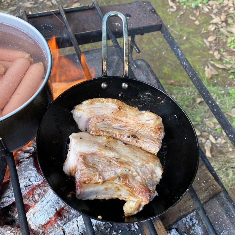 スペアリブ料理の下準備です