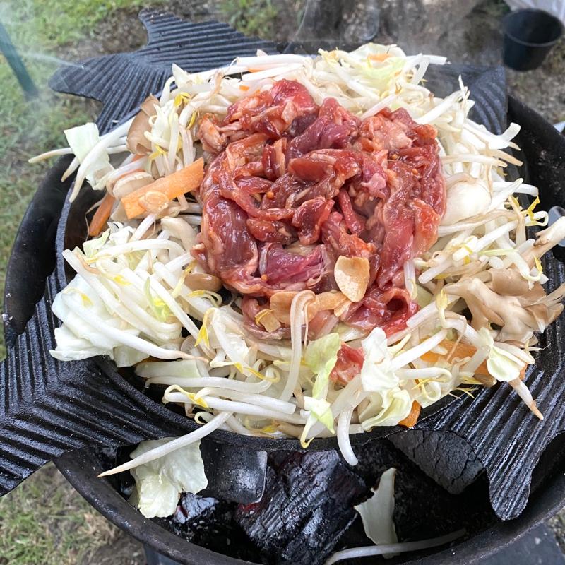 ジンギスカン鍋 そしてラム肉