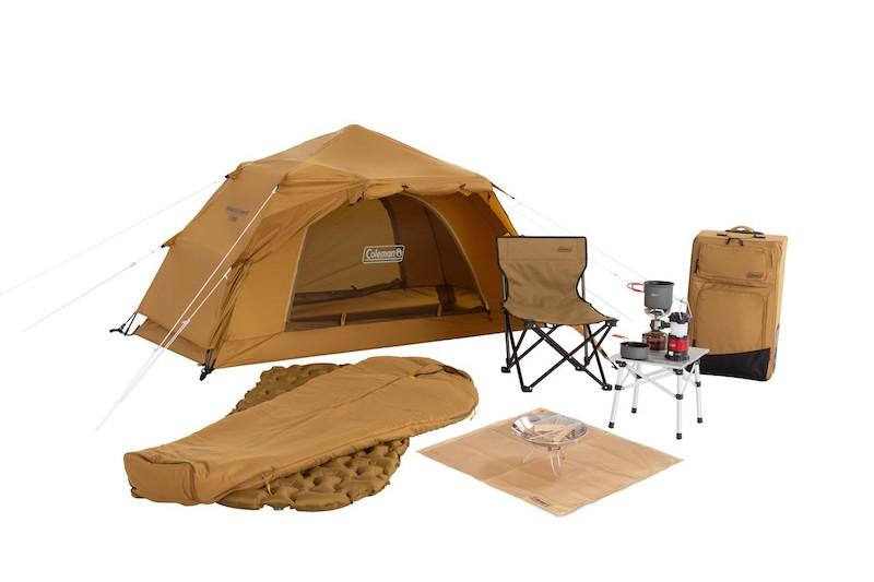 スーツケースでソロキャンプ