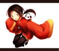 初めてヘタリアのアニメを見ました。中国さんがすごくかわいかった