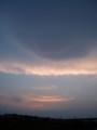 [空]七北田川の夕空