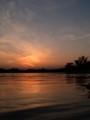 [河][空]七北田川の水面