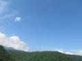 [空]湯浜峠からの青空