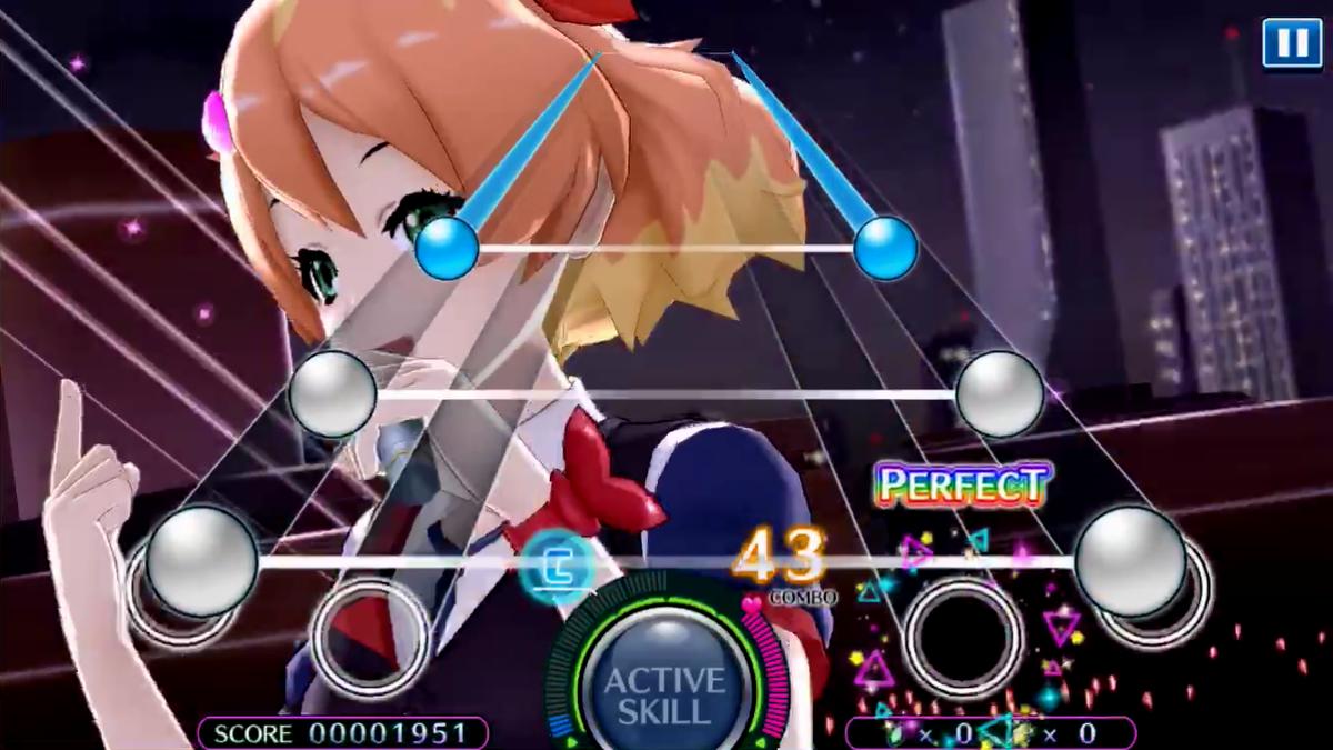 歌マクロス LIVE画面