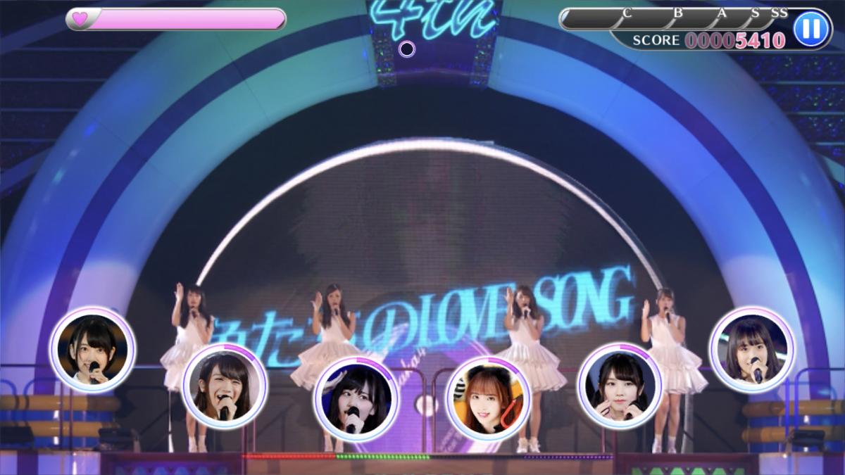 乃木フェス LIVE画面