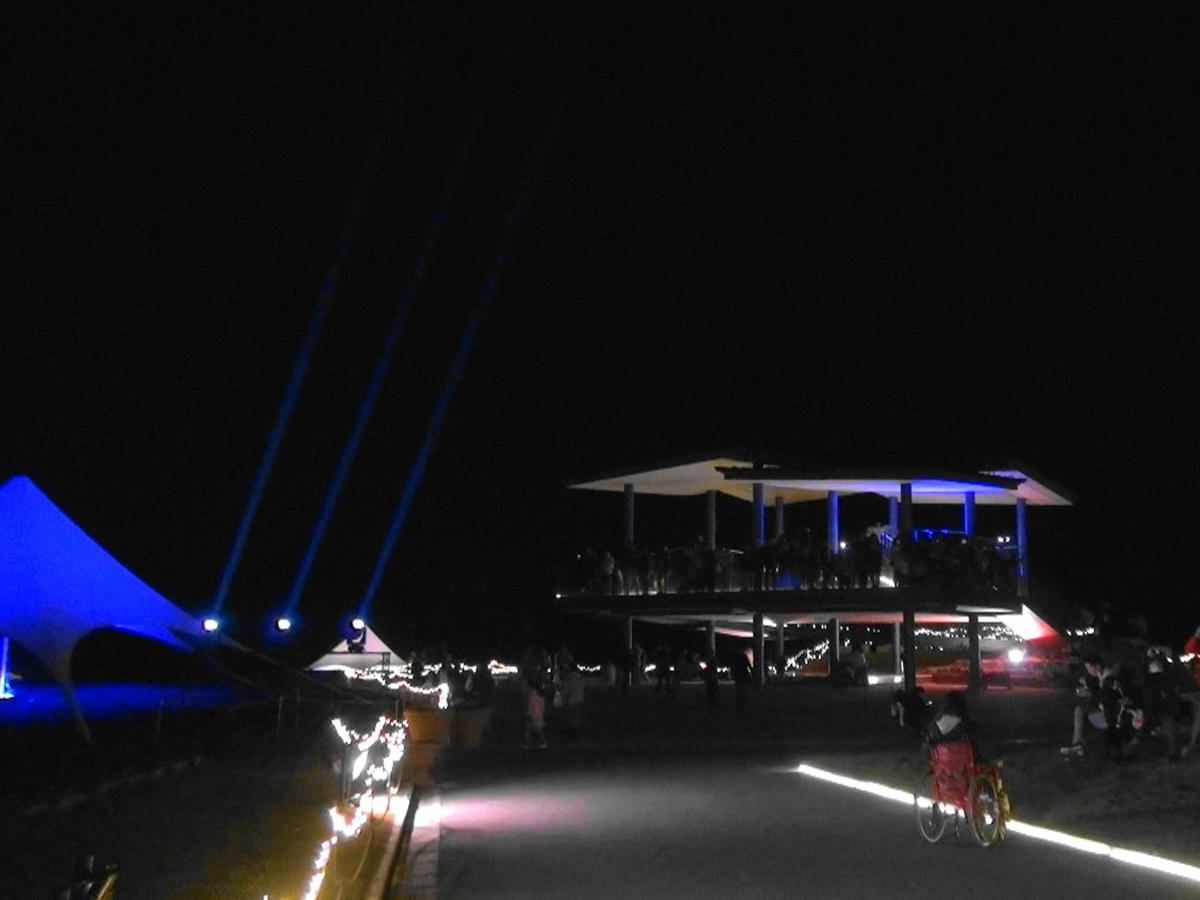 花の広場展望台
