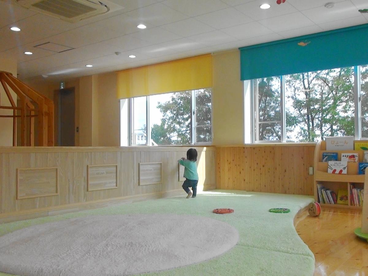 赤ちゃんのお部屋はじゅうたんあり