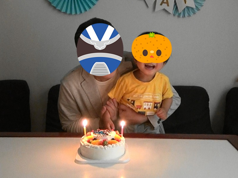ケーキと父ちゃんと次男坊
