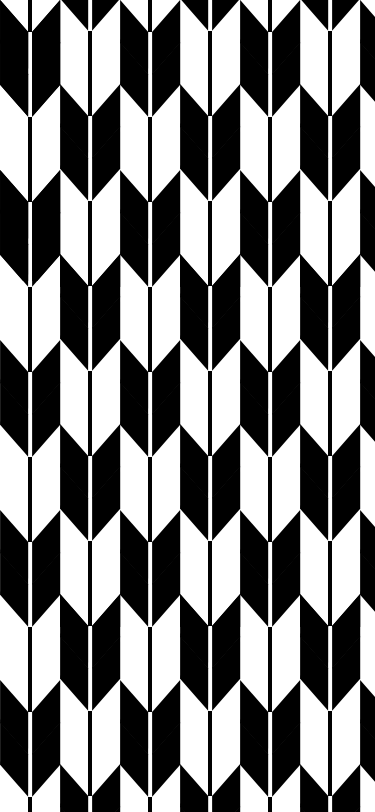 矢絣(白黒)