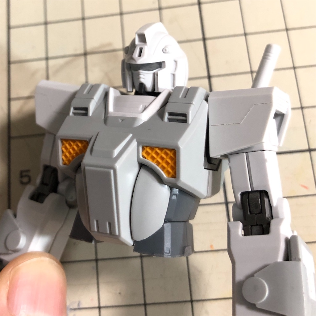 HG イングリッド0専用 ヘビーガンダム 塗装/改修レビュー12