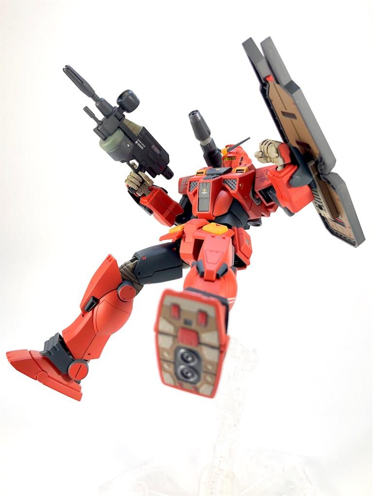 HG イングリッド0専用 ヘビーガンダム 塗装/改修レビュー06