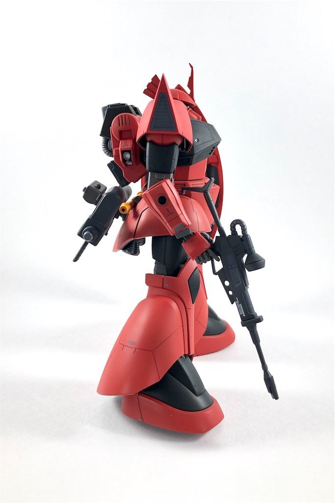HG ジョニー・ライデン専用ゲルググ 塗装/改修レビュー03