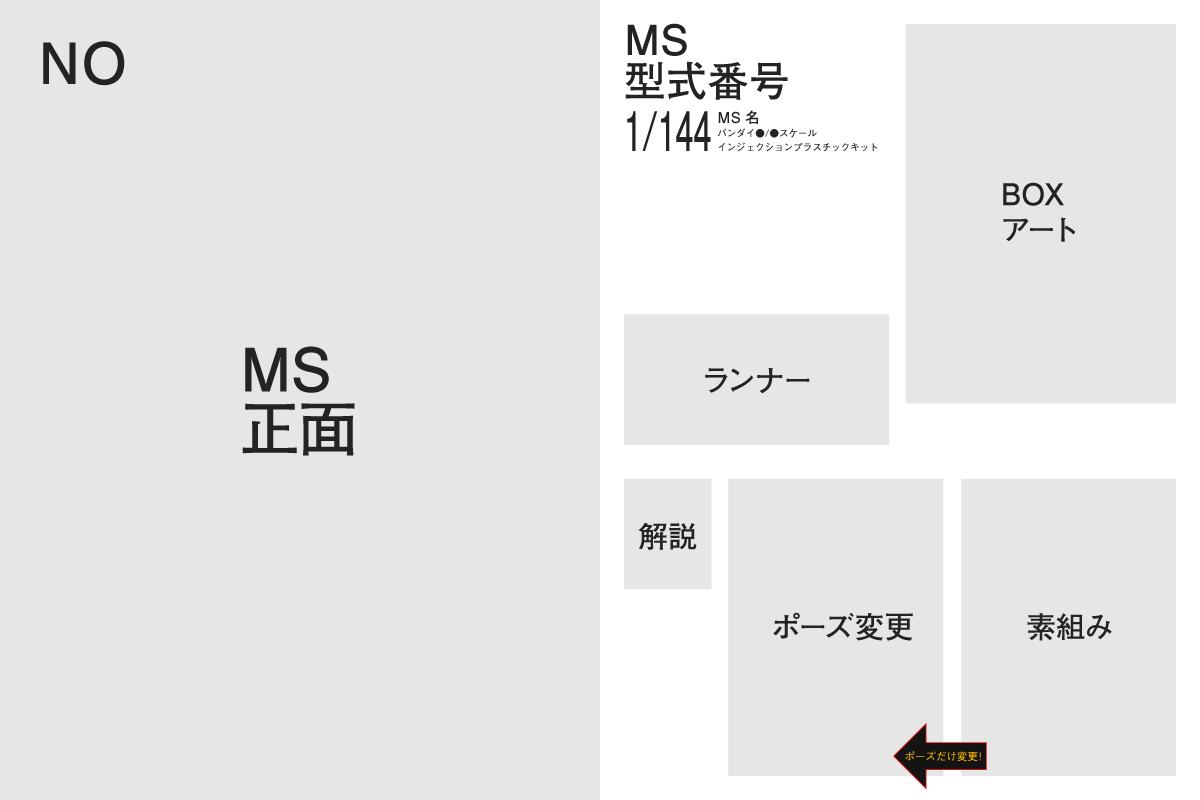 MSVモデリングカタログ 1/144+αの構成 その1