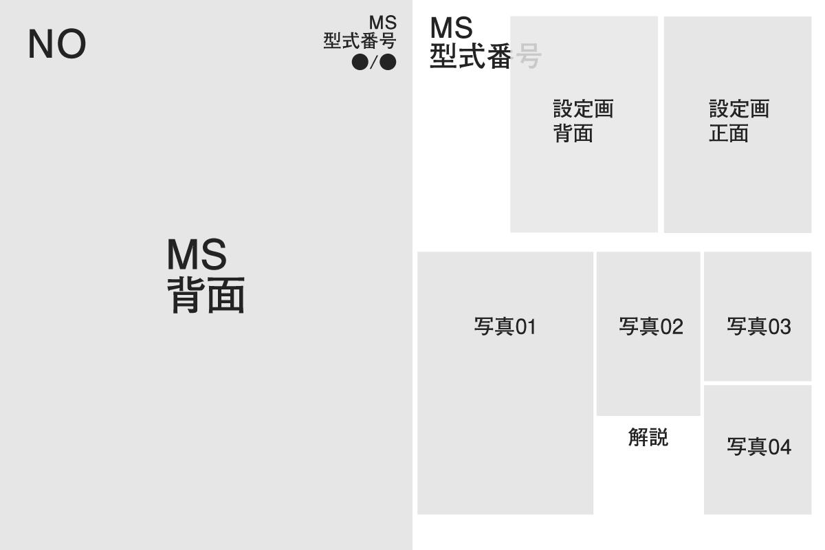 MSVモデリングカタログ 1/144+αの構成 その2
