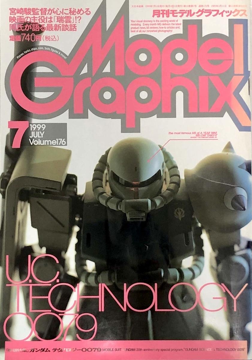 モデルグラフィックス 1999年7月号の表紙