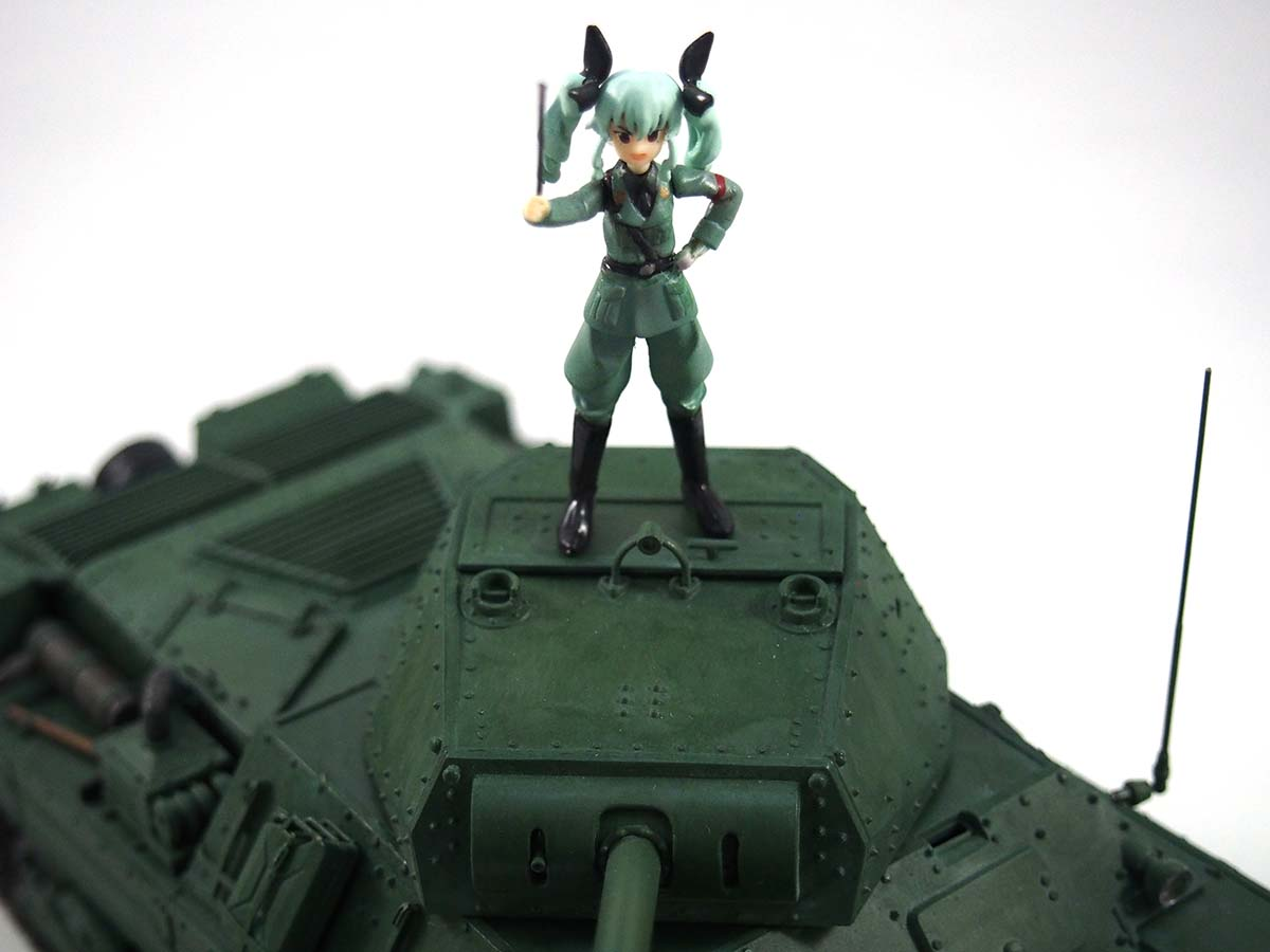 P40型重戦車/アンツィオ高校&アンチョビ「これが我々の秘密兵器だ!」