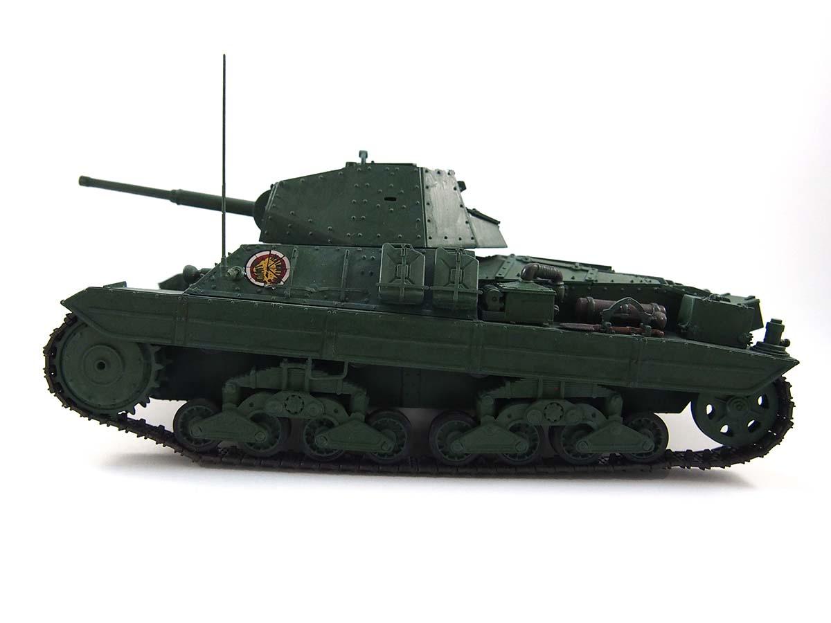 P40型重戦車/アンツィオ高校 塗装済み完成写真