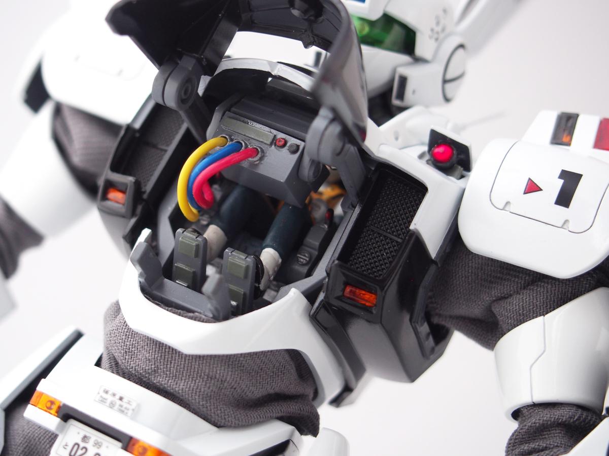 MGイングラム 正面モニター